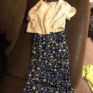 Other - Girls size 10/12 spaghetti strap maxi dress